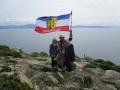Gemeinsam mit Eltern am Kap Finisterre